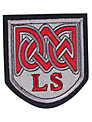 Langley Senior School Unisex Blazer Badge, Multi