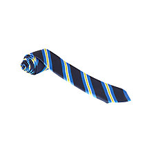 Buy Lourdes Primary School Unisex Tie, Blue/Gold Online at johnlewis.com