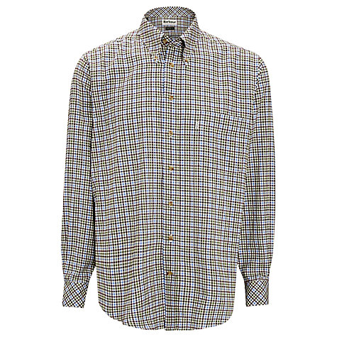Buy Barbour Comfort Fit Scotland Check Shirt Online at johnlewis.com