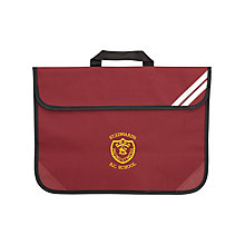 Buy St Edwards RC Primary School Unisex Book Bag, Maroon Online at johnlewis.com