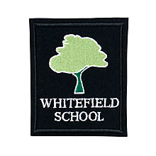 Buy Whitefield School, an Academy Unisex Blazer Badge, Black/Green Online at johnlewis.com
