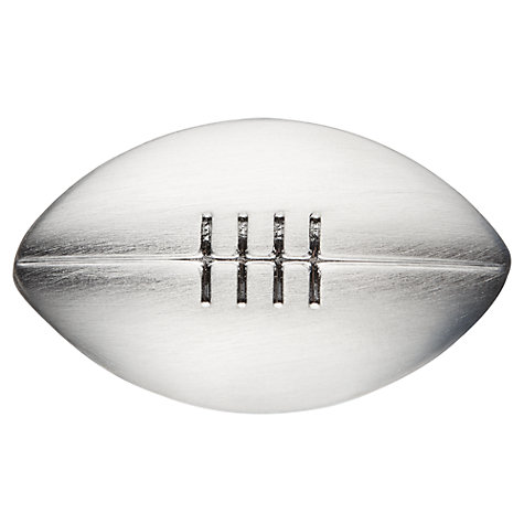 Buy John Lewis Novelty Rugby Ball Cufflinks Online at johnlewis.com