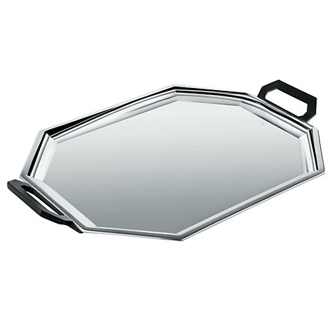 Buy Alessi Ottangonale Serving Tray Online at johnlewis.com