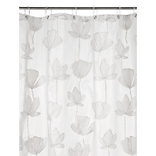 Buy John Lewis Gingko Flower Shower Curtain, Semi-Sheer Online at johnlewis.com