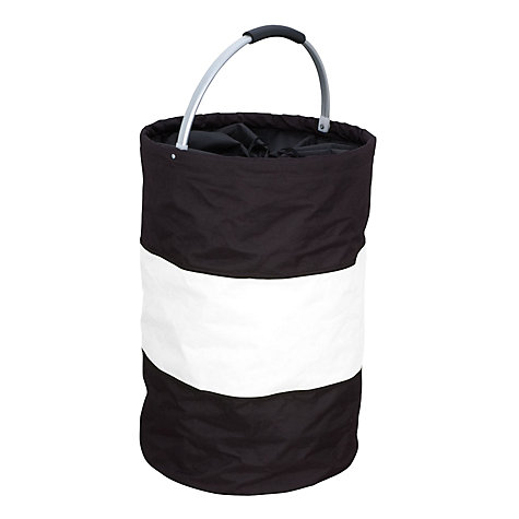 Buy Rotari Laundry Bag, Black / White Online at johnlewis.com