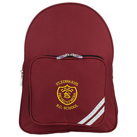 Buy St Edwards RC Primary School Unisex Backpack Online at johnlewis.com