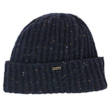 Buy Barbour Turnback Beanie Online at johnlewis.com