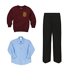 St Edwards RC Primary School Boys' Uniform