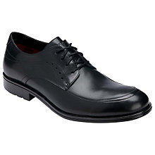 Buy Rockport DresSport Moc Front Leather Shoes, Black Online at johnlewis.com