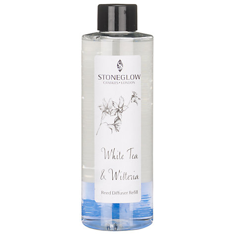 Buy Stoneglow Diffuser Refill, White Tea & Wisteria, 200ml Online at johnlewis.com