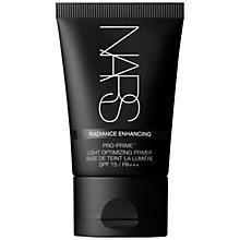 Buy NARS Radiance Enhancing Primer SPF15 PA+++, 30ml Online at johnlewis.com