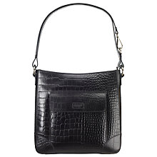 Buy Osprey London Large Carapace Croc Print Across Body Bag Online at johnlewis.com