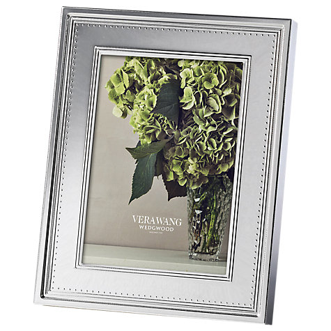 Buy Vera Wang for Wedgwood Grosgrain Photo Frame Online at johnlewis.com