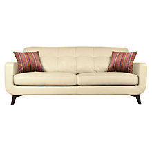 Buy John Lewis Barbican Leather Sofa Range Online at johnlewis.com