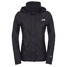 Buy The North Face Resolve Waterproof Women's Jacket, Black Online at johnlewis.com