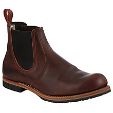 Buy Red Wing Chelsea Rancher Boots, Brown Online at johnlewis.com