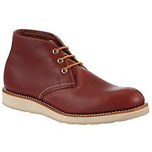 Buy Red Wing Work Leather Chukka Boots Online at johnlewis.com