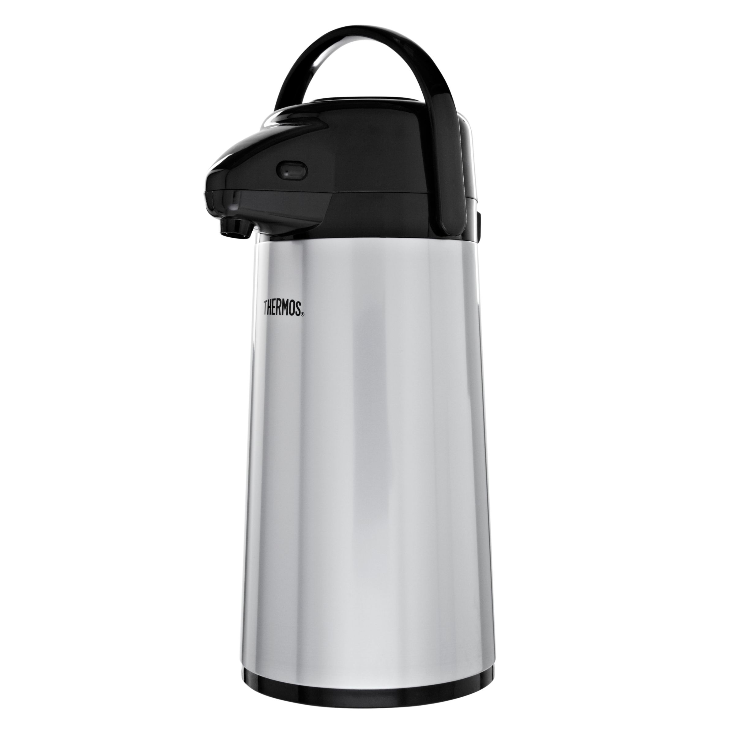 Thermos Push Button Pump Pot with Glass Liner, 1.9L