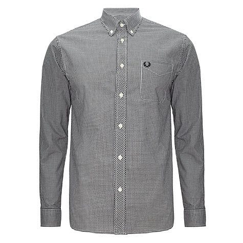 Buy Fred Perry Gingham Check Shirt Online at johnlewis.com