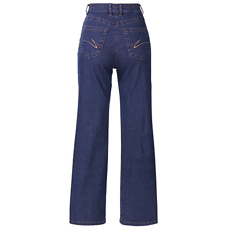 Buy Zaffiri Lucilla Straight Leg Jeans, Regular Length, Indigo Online at johnlewis.com