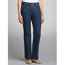 Buy Zaffiri Lucilla Straight Leg Jeans, Regular Length Online at johnlewis.com