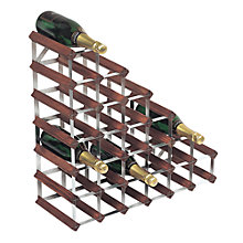 Buy RTA Winestak Under Stairs Wine Rack, 27 Bottles, Dark Wood Online at johnlewis.com