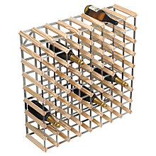 Buy RTA Winestak 72 Bottle Wine Rack, Pine and Steel Online at johnlewis.com