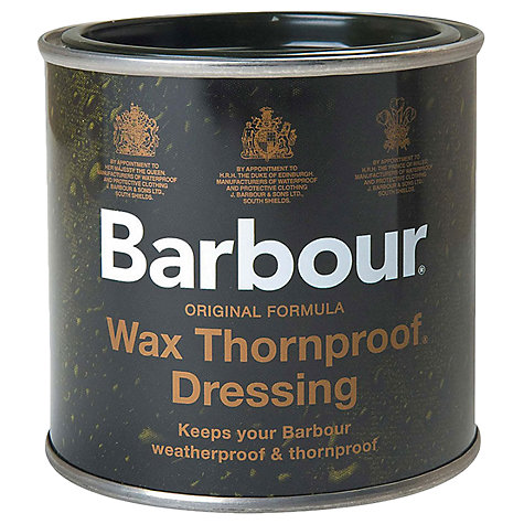 Buy Barbour Thornproof Wax Dressing Online at johnlewis.com