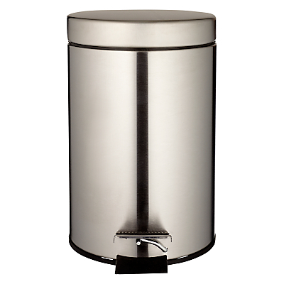 John Lewis Round Soft Close Pedal Bin, 3L