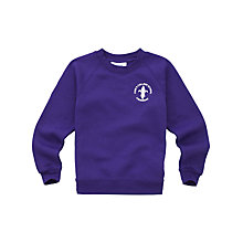 Buy King's College School Unisex Sweatshirt, Purple Online at johnlewis.com
