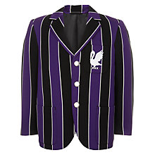 Buy The Perse Prep School Unisex Blazer, Black/Purple Online at johnlewis.com