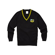 Buy Auckland College Unisex Pullover, Black Online at johnlewis.com