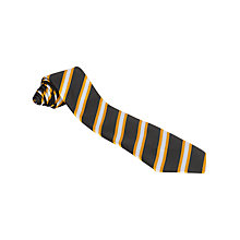 Buy Childwall C of E Primary School Unisex Tie, Black/Gold Online at johnlewis.com
