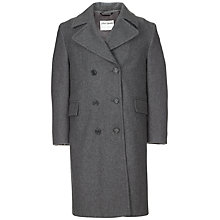 Buy Rudston Preparatory School Girls' Cynthia Coat, Grey Online at johnlewis.com