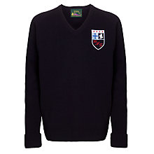Buy Maghull High School Years 10 & 11 Unisex Pullover, Navy Online at johnlewis.com