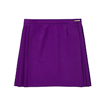 Buy School Girls' Games Skirt, Purple Online at johnlewis.com