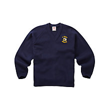 Buy St Bede's Catholic High School Unisex Years 10 & 11 Pullover, Navy Blue Online at johnlewis.com