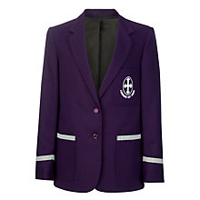 Buy St Hilda's CE High School Girls' Blazer, Purple Online at johnlewis.com