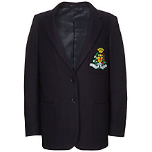 Buy St Julie's Catholic High School Girls' Badged Blazer, Navy Online at johnlewis.com