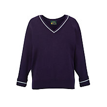 Buy St Hilda's CE High School Girls' Pullover, Purple Online at johnlewis.com