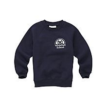 Buy Whitehall School Unisex Tracksuit Top, Navy Online at johnlewis.com