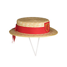 Buy St John's College Girls' Summer Boater Hat Online at johnlewis.com