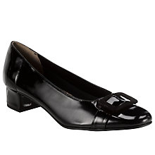 Buy John Lewis Olly Block Heel Patent Pumps Online at johnlewis.com