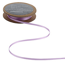 Buy John Lewis Double Satin Ribbon, 5m Online at johnlewis.com