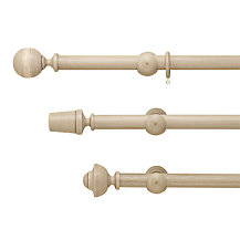 John Lewis Grey Curtain Poles, Dia.35mm