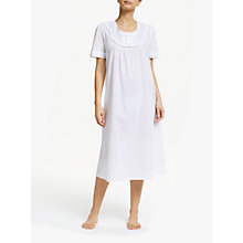 Buy John Lewis Pilli Cotton Nightdress, White Online at johnlewis.com