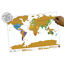 Buy Scratch Map Online at johnlewis.com