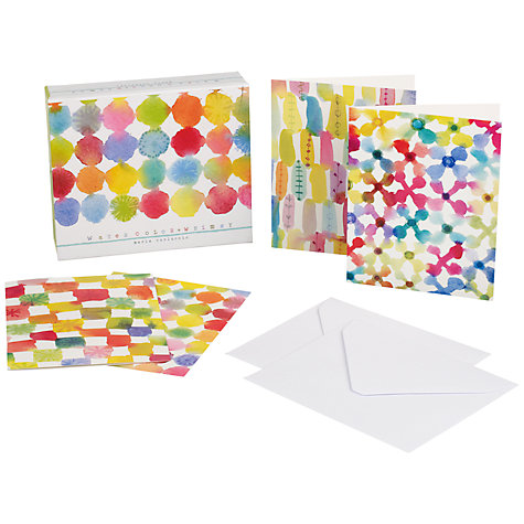 Buy Watercolour Whimsy Notecards, Pack of 20 Online at johnlewis.com