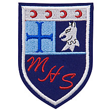 Buy Maghull High School Unisex Blazer Badge, Multi Online at johnlewis.com