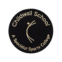 Buy Childwall Sports College Unisex Blazer Badge, Black/Yellow Online at johnlewis.com
